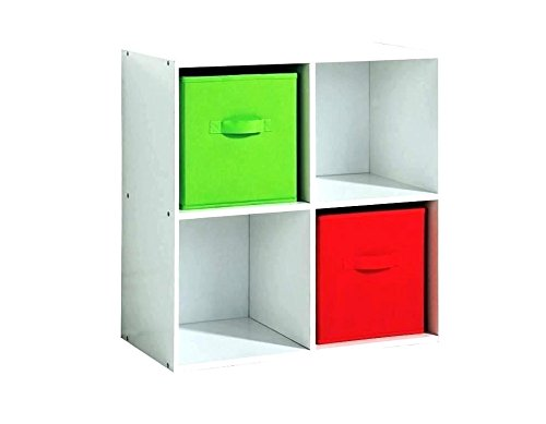 Essentials Green Collapsible Storage Container Perfect for Organizing Books Toys Clothing Shoes School Supplies Closet Dorm Room Decoration