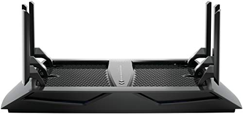 NETGEAR (R8000-100NAS) Nighthawk X6 AC3200 Tri-Band WiFi Router, Gigabit Ethernet, Compatible with Amazon Echo/Alexa