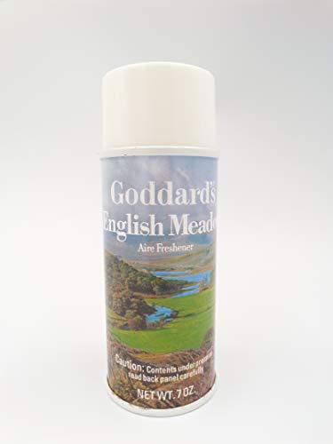 Goddard's English Meadow Air Freshener Spray Can 7 oz Country NOS Movie Prop Display Vintage