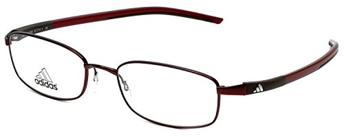 Adidas Designer Eyeglasses a623-40-6055 in Burgundy 52mm DEMO - Glasses Rx Adidas