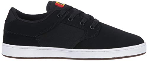 Pictures of DVS Men's Quentin Skate Shoe Black Wax Canvas 3
