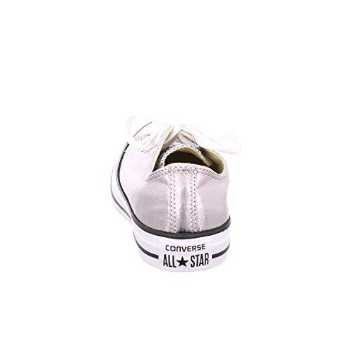 Konversere Unisex-voksne Sæsonmæssige Metallisk Sølv Hjemmesko - Hvid 78rOf