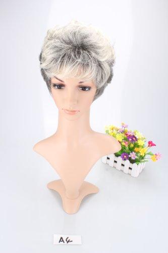 Liz W (Short Grey Wig)