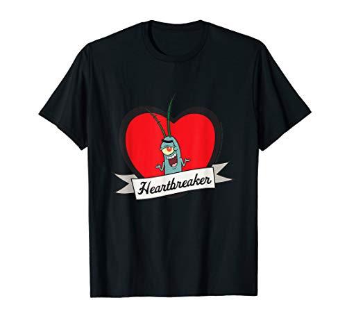 Spongebob Squarepants Plankton Valentines T-shirt -