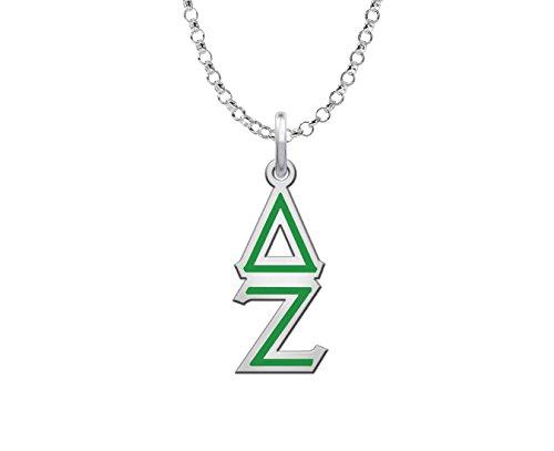 Delta Zeta Colored Lavaliere Charm