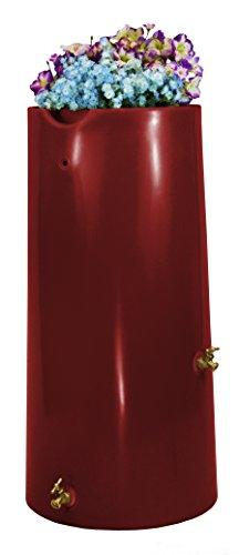 (Good Ideas IMP-R50-MAR Impressions Reflections Rain Saver Rain Barrel, 50 gallon, Marsala)