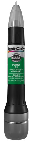 Dupli-Color AFM0350 Metallic Amazon Green Ford Exact-Match Scratch Fix All-in-1 Touch-Up Paint - 0.5 oz. - Ford Green