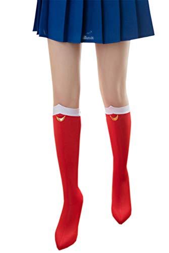 YuHi Sailor Moon Halloween Cosplay Costume Socks