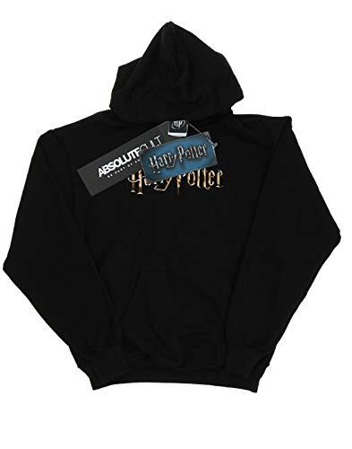 Mujer Harry Logo Full Capucha Potter Colour Negro 5qwzx0q