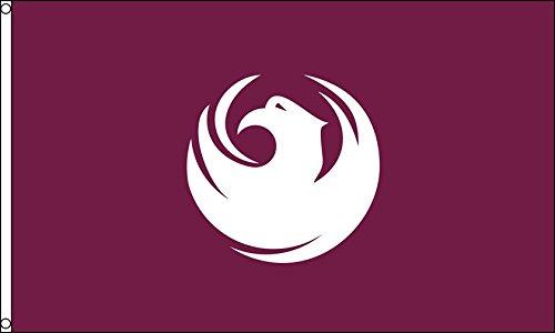 AZ FLAG Phoenix Flag 3' x 5' - Phoenix City - Arizona Flags 90 x 150 cm - Banner 3x5 ft