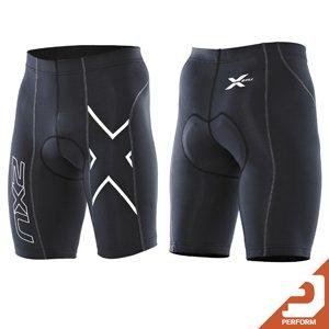 2XU Men's Compression Cycle Shorts (Black/Black, Small) (2xu Compression Cycle Short)
