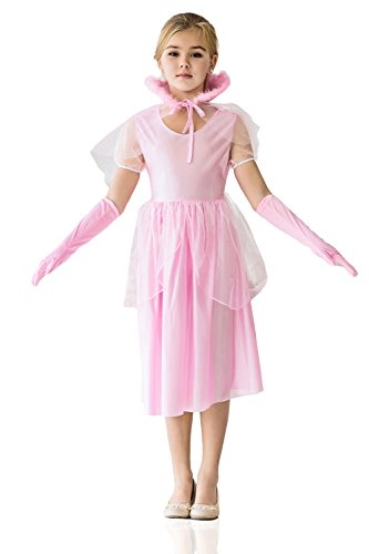 [Kids Girls Pink Queen Halloween Costume Princess Her Grace Dress Up & Role Play (6-8 years)] (Halloween Pair Costume Ideas Kids)