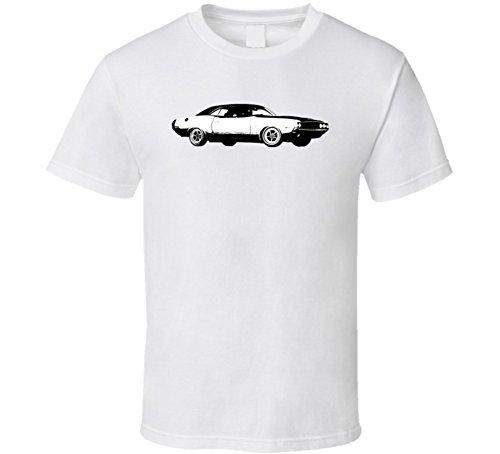 Dodge Challenger Rt 426 7 Vintage Car Lover Driver Fan Gift T Shirt XL White