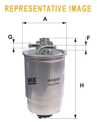 WIX FILTERS WIXFILTERS WF8459 Fuel Injectors: