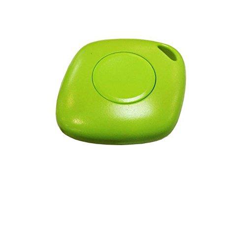 The-Fox Mini Portable SOS Alert Anti-theft Bluetooth Locate Tracker Lost Child Finder Locator for Kids, Elderly, Autistic Child, Dementia People, Pet Dogs, Keys, Valuables (Green) - Tracker Autistic