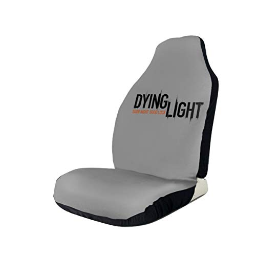 Price comparison product image Dying Light Car Seat Covers Auto Seat Protectors for Women Men Set of 2