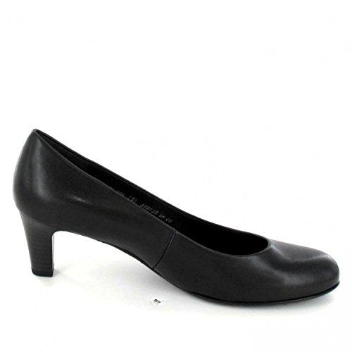Gabor Basic Pompen In Meer Dan Maten Zwarte 85.200.87 Grote Dames Schoenen Zwart (black)