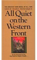 By Erich Maria Remarque All Quiet on the Western Front [Hardcover]