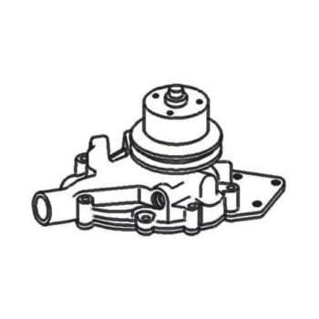 Amazon Com New Water Pump Re25043 Fits Jd 210c 310a 310b 350