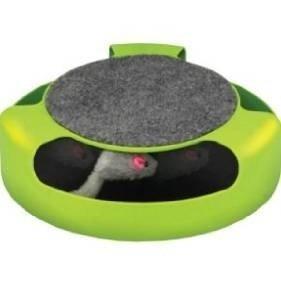 Feline Frenzy Cat Toy - Feline Frenzy Cat Toy with Scratch Pad
