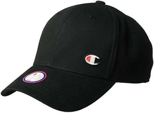 Champion LIFE Men's Classic Twill Hat with C Patch, Black, - Baseball Cap Champion