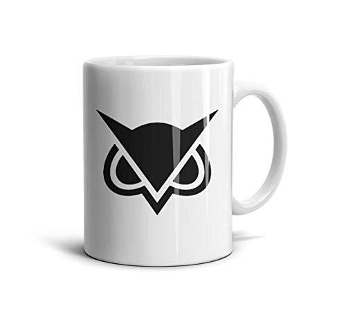 Lplohlrg White Ceramic Travel Coffee Mugs for Men/Women 11 oz Funny Design Daily Use Mom Gift Coffee Lovers Tea Mugs -