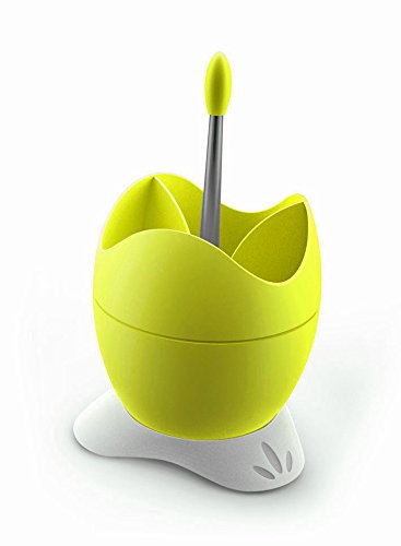 Biesse Casa Polystyrene Cutlery Drainer with Drainage Container and Handle, Yellow ECOPLAST P 600/11