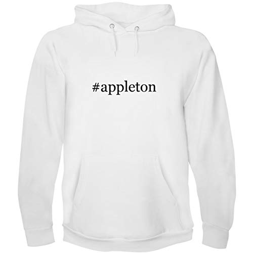 The Town Butler #Appleton - Men's Hoodie Sweatshirt, White, - Appleton White Rum