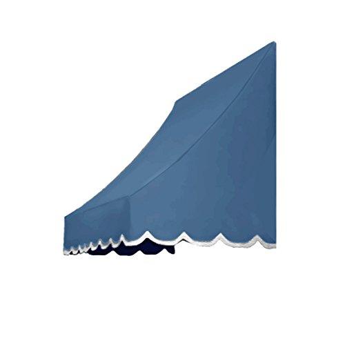 UPC 731478528825, Awntech 6-Feet Nantucket Window/Entry Awning, 56-Inch Height by 48-Inch Diameter, Dusty Blue