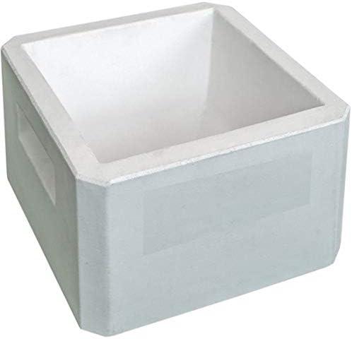 Suinga COMEDERO Perros de HORMIGON 13KG 7 litros. Medidas. Largo 27 x Ancho 27,5 x Alto 16 cm. Útil para Animales Que tienden a morder los comederos de plásticos.