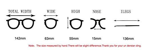 ... LHWY Femmes hommes voyage lunettes de soleil été Vintage Retro lunettes  carré dégradé de couleur lunettes dc01ea348706