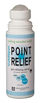 Point Relief© ColdSpot© Pain Relief Gel 3oz Roll-On