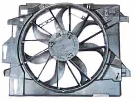 - TYC 621860 Dodge/Chrysler Replacement Radiator/Condenser Cooling Fan Assembly