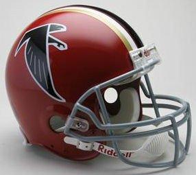 Riddell NFL Atlanta Falcons 1966-1969 Throwback Authentic Vsr4 Full Size Football Helmet