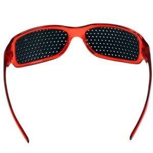 améliore Rouge exercé lunettes Rouge soin lunettes la FreshGadgetz Unisex sténopé de yeux vue YRqxZdw