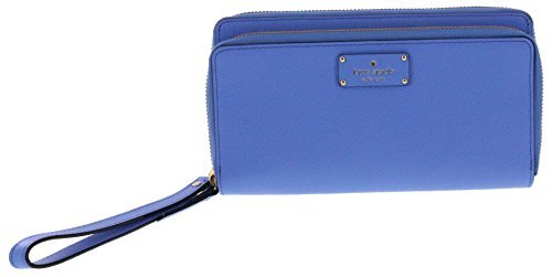 Kate Spade New York Grove Street Anita Wristlet Handbag Clutch Purse Wallet (Alice Blue) by Kate Spade New York