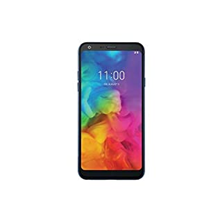 LG Q7 Plus Q610TA 5.5in 64GB T-Mobile GSM Unlocked Android Smartphone - Morrocan Blue (Renewed)