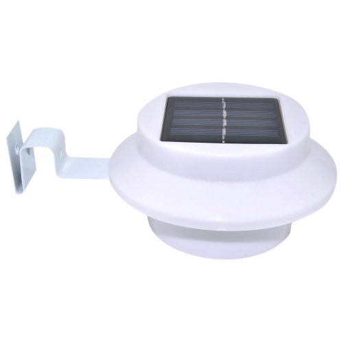 ZhiZhu® 3 LED Solar Powered Fence Gutter Light Outdoor Garden Wall Lobby Pathway Lamp (Energy Saver With High Technology)