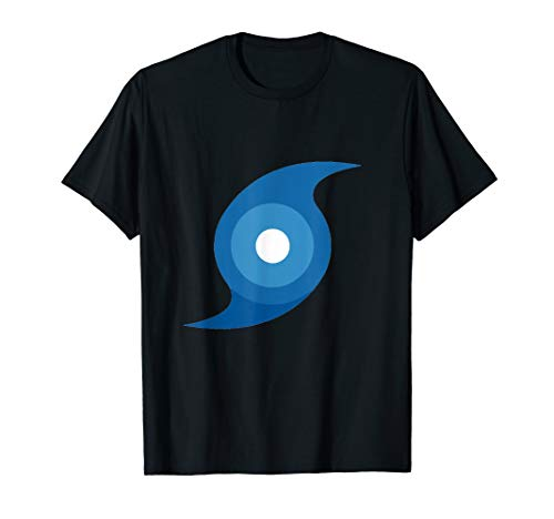 Eye of the Storm Hurricane Symbol T-Shirt