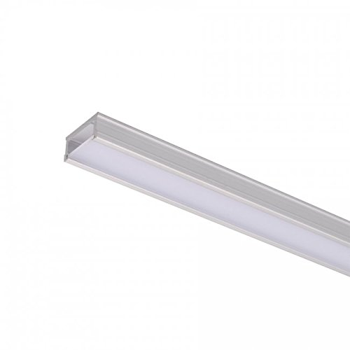WAC Lighting LED-T-CH Ridgid Aluminum Channel for InvisiLED by WAC Lighting
