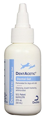Dog Dentacetic (DentAcetic Natural Dental Gel For Dogs and Cats (2 oz))