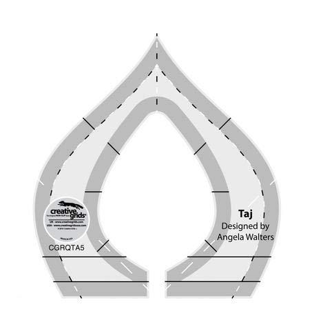 - Creative Grids Machine Quilting Tool - Taj