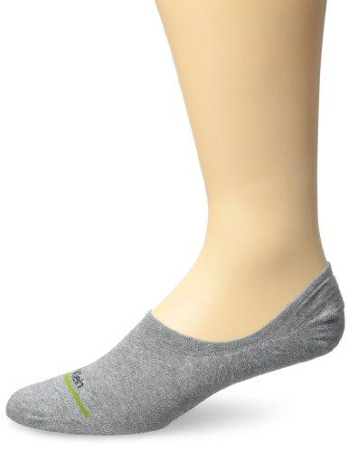 Calvin Klein Men's Heathers No-Show Liner Socks, Grey Denim, One Size (7-12)