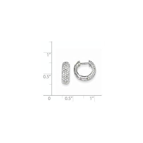 0.7 Ct Diamond Hoop - 4