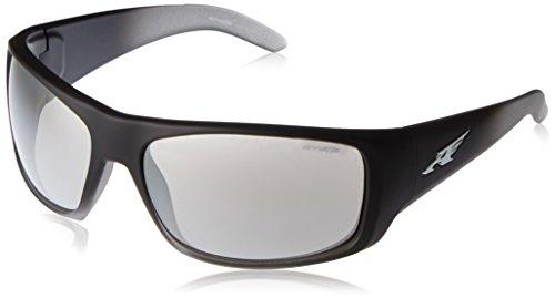 Arnette La Pistola AN4179-09 Wrap Sunglasses, Black, 66 - Polarized Sunglasses Arnette