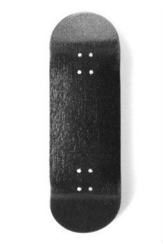 Exodus Spartan II Fingerboard Deck Wide 32mm - Black