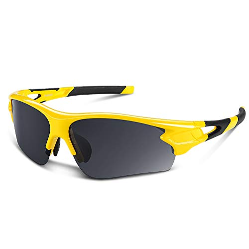 Polarized Sports Sunglasses for Men Women Youth Baseball