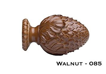 Pinecone Finial (Wood Trends Oakleaf Cone Finial for 1 3/8