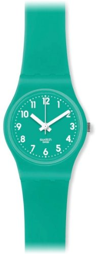 Swatch LL115 leave turquoise rubber product image