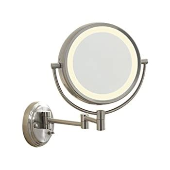 Amazon Com Conair Be6wmx Lighted 7x Brushed Nickel Wall